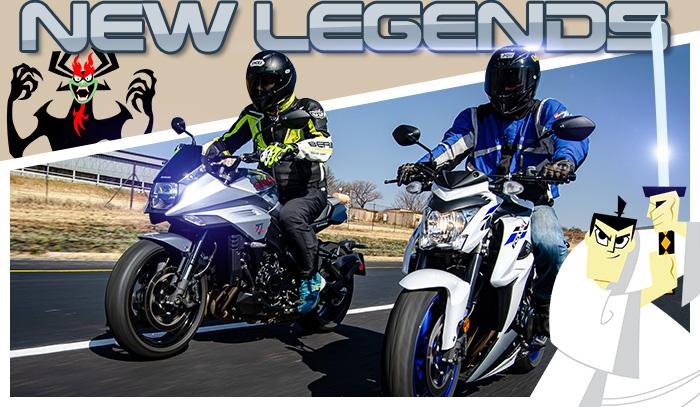 Suzuki Katana and Suzuki GSX-S1000A.  - Billys Bikes
