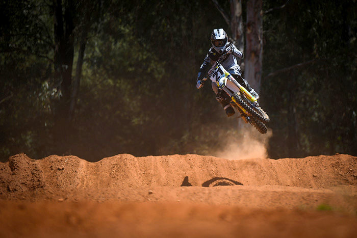 Motocross star David Goosen.