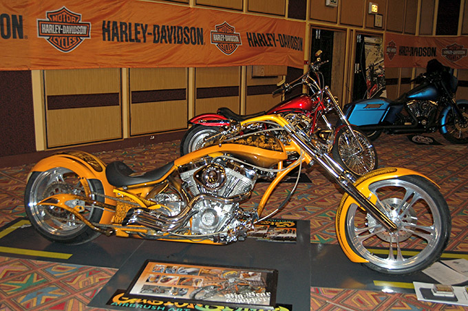 harley side