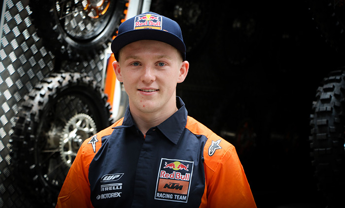 Red Bull KTM signs Cameron Durow.