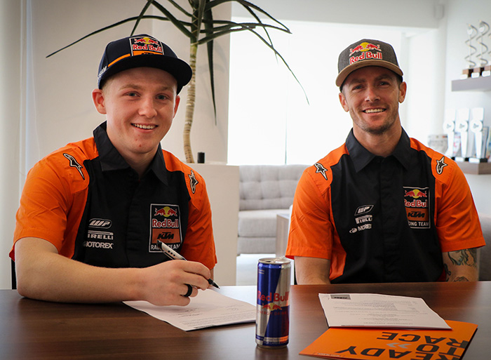Red Bull KTM signs Cameron Durow. 1