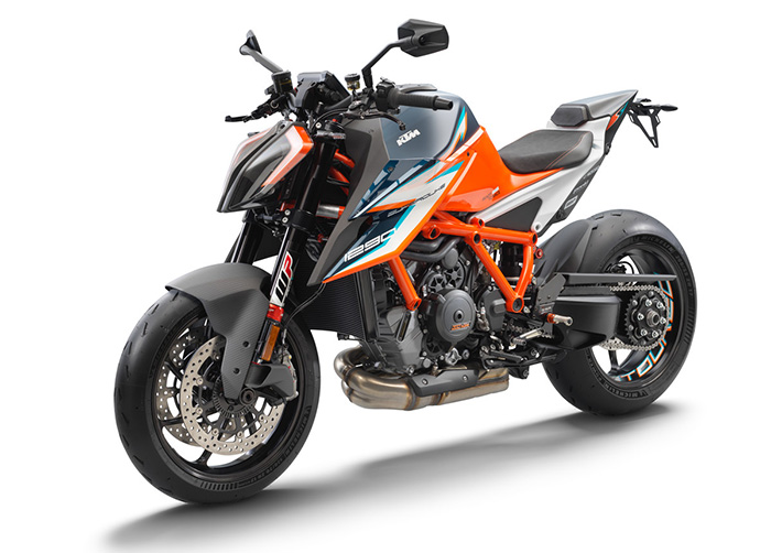 KTM 1290 SUPER DUKE RR front left