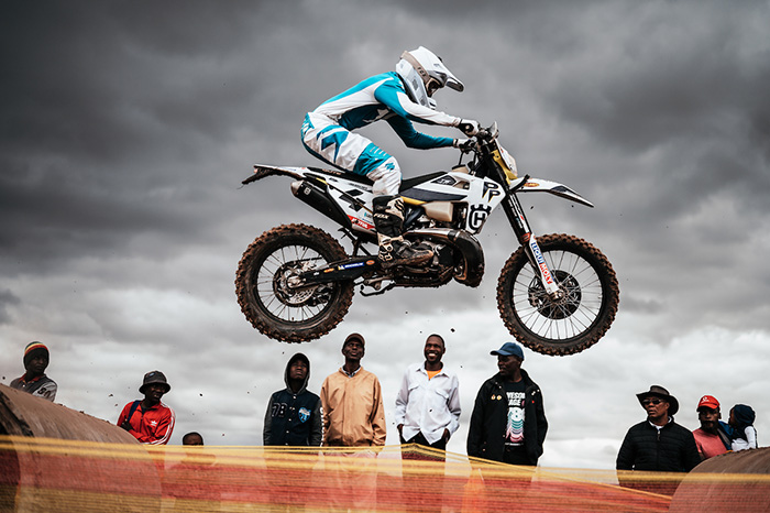 Matt Green rides in style at the 2019 Motul Roof of Africajpg