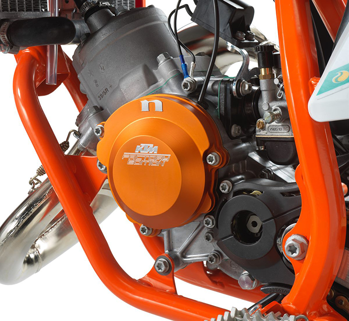 KTM 50 SX Factoy Edt 2021 detail engine