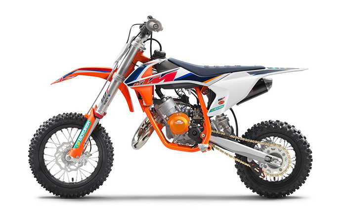 KTM 50 SX Factoy Edt 2021 left