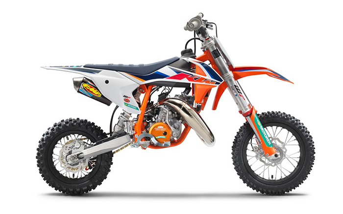 KTM 50 SX Factoy Edt 2021 right
