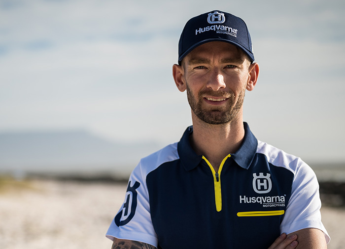 David Goosen joins the Husqvarna family.